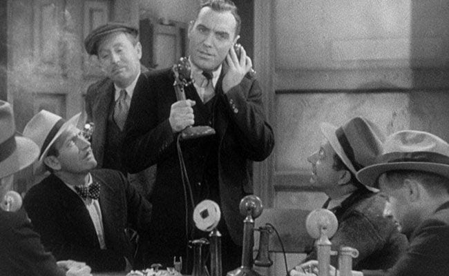Fast-talking Newsmen in the Restored 1931 Classic, 'Front Page'