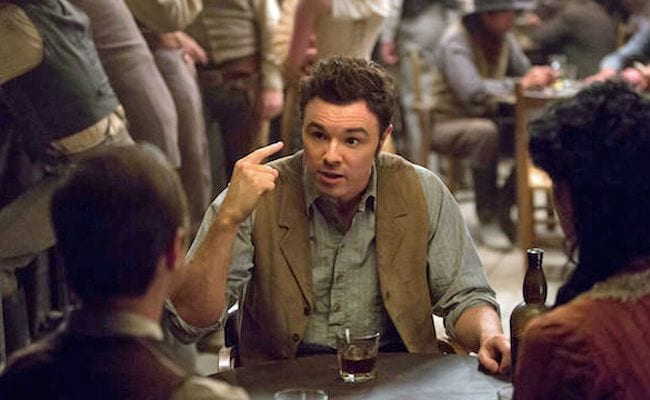 'A Million Ways to Die in the West' Places Seth MacFarlane's Ego Front and Center