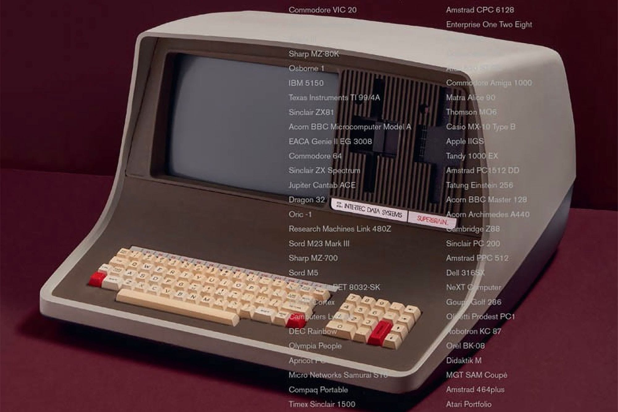 Home Computers: 100 Icons that Defined a Digital Generation (excerpt)