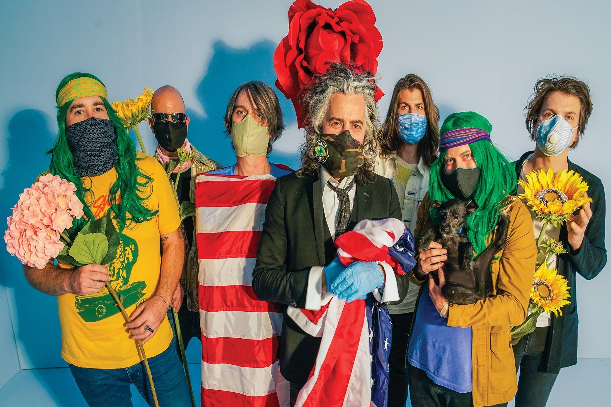 """The Flaming Lips' Wayne Coyne on Worry, Freetime, and His Band's New """"Head"""" Trip"""